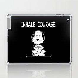 Inhale Courage Laptop & iPad Skin