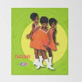 The Marvelettes Subway Soul Throw Blanket