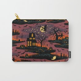 Halloween Night - Bonfire Glow Carry-All Pouch