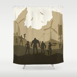 Psycho Shower Curtains