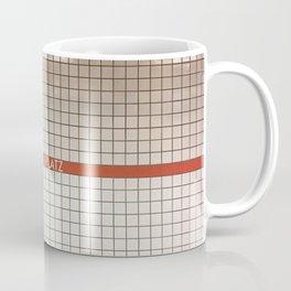 Nuremberg U-Bahn Memories - Aufessplatz Coffee Mug