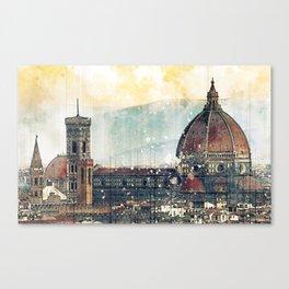 Florence - Cattedrale di Santa Maria del Fiore Canvas Print