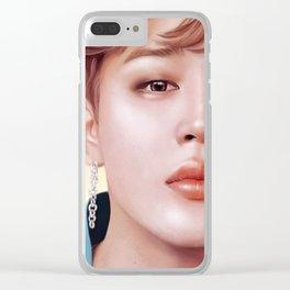 Sunlight - Jimin Clear iPhone Case