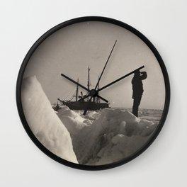 Nansen's Fram North Pole Expedition Wall Clock