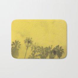 Yellow Palms Bath Mat