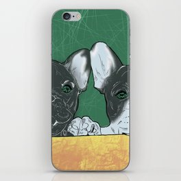 bouledogue au revoir iPhone Skin