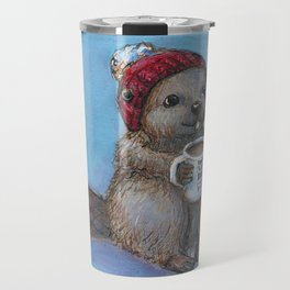 Canadian Beaver Travel Mug