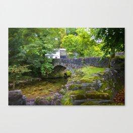 Ambleside Stone Bridge Canvas Print