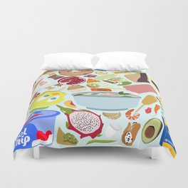 My Cravings Make No Sense Duvet Cover