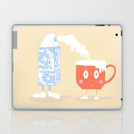 Milky Couple Laptop & iPad Skin