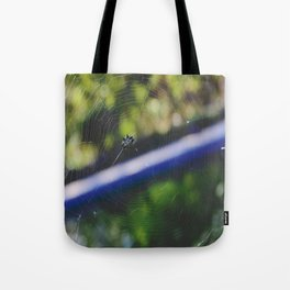 Jeweled Web Tote Bag