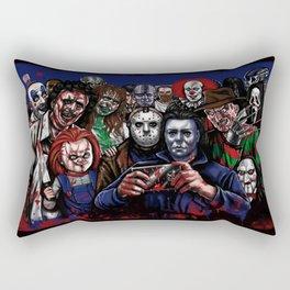 Horror Villains Selfie Rectangular Pillow