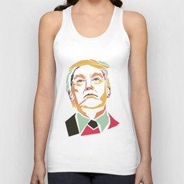 Donald Trump Pop Art Unisex Tank Top