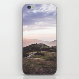 good morning mountains iPhone Skin