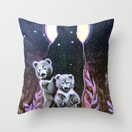 Next Generation Medicine People: Dusty Rose Throw Pillow