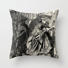 A Beastly Scourge? Throw Pillow