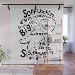 Soft Wookiee Warm Wookiee Wall Mural