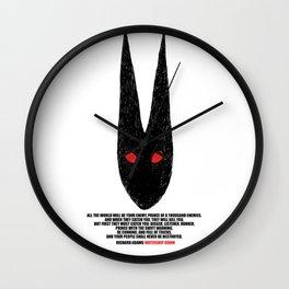 Watership Down Wall Clock