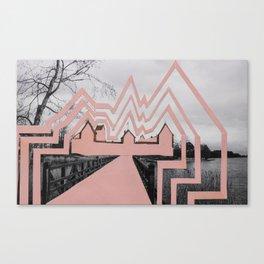 Trakai Castel // de-characterization Canvas Print