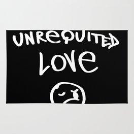Unrequited love Rug