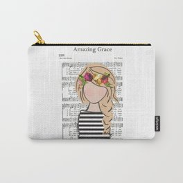 Amazing Grace - Blonde Braid Carry-All Pouch