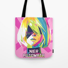 Pop Art Nier Tote Bag