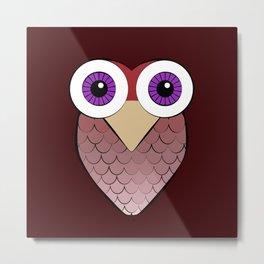 Sofia's Owls Metal Print