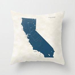 California Parks - v2 Throw Pillow