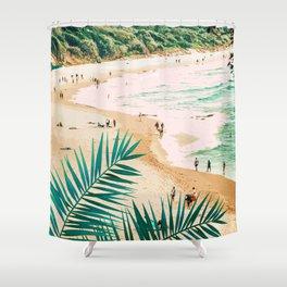 Beach Weekend #digitalart #nature Shower Curtain