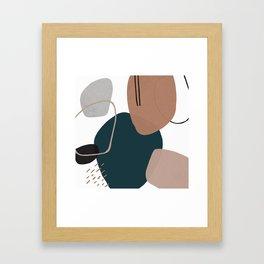 Stone's Throw Framed Art Print