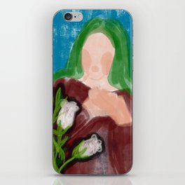 The Canterbury Bells iPhone Skin