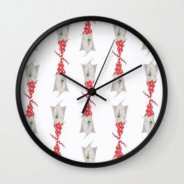 Multiple Gnomes Wall Clock