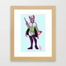 court wizard Framed Art Print