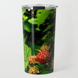 Almost Time for Rasberries Travel Mug
