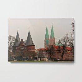 Lübeck Metal Print
