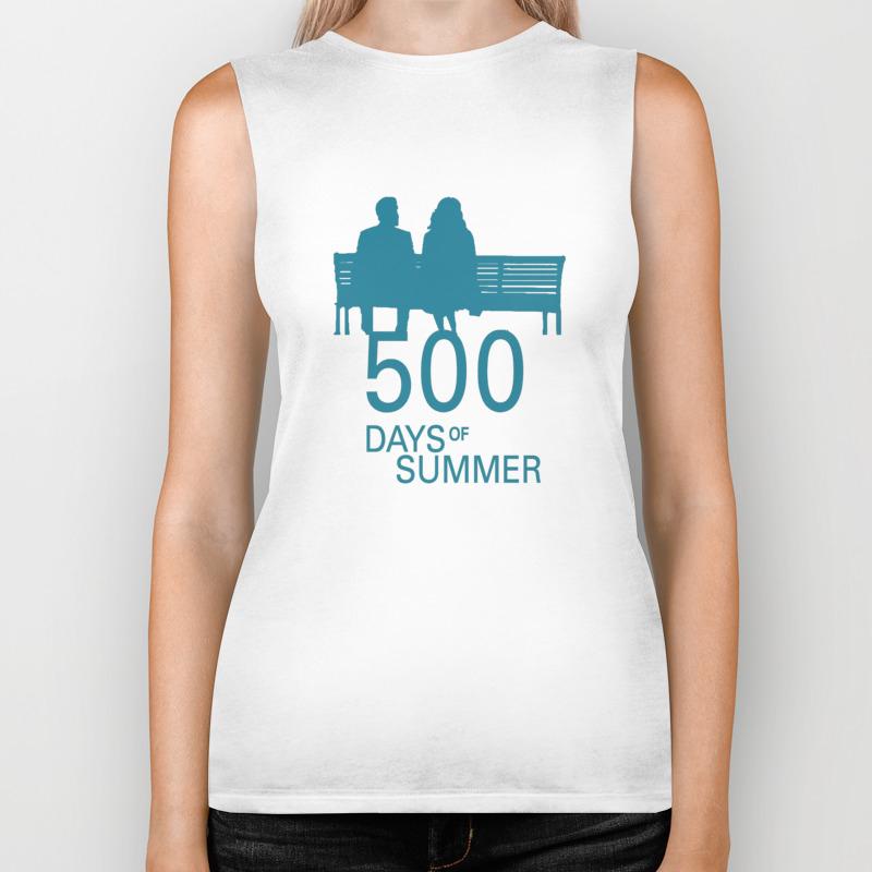 500 Days Of Summer 01 Biker Tank by Miserym BKT8760071