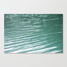 Water, waves and light Canvas Print