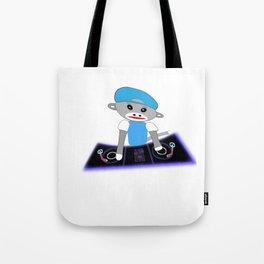Dj Monkey Tote Bag