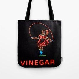 Skipping Girl Tote Bag
