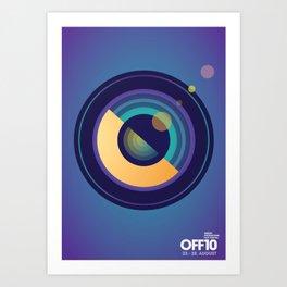 OFF10 - Odense International Film Festival Art Print