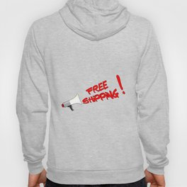 Free Shipping Megaphone Hoody
