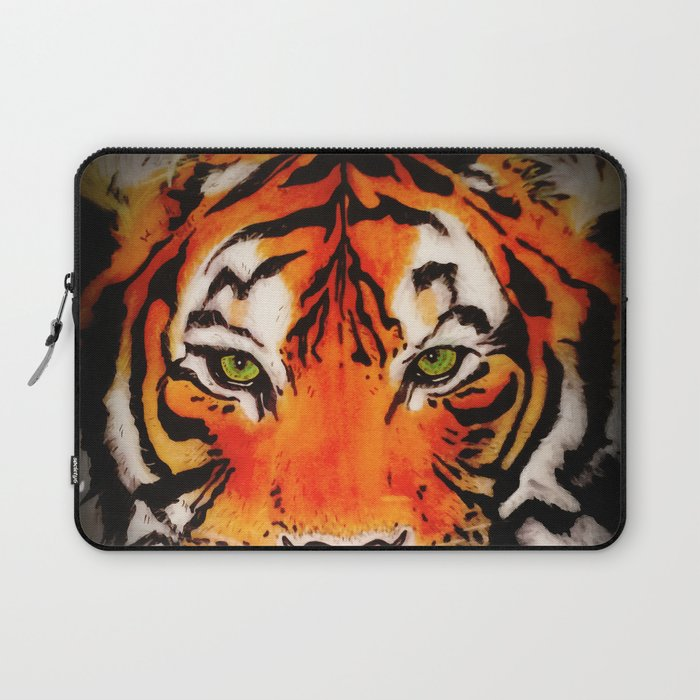 Tiger in the Shadows Laptop Sleeve