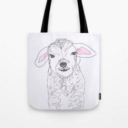Cheeky lamb Tote Bag