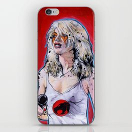 Debbie Harry Cheetara - Rip Her to Shreds iPhone Skin