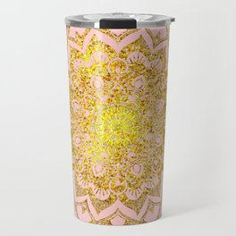Golden Mandala i Travel Mug