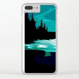 utah lake Clear iPhone Case