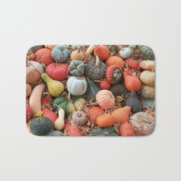 cornucopia (heirloom pumpkins and squashes) Bath Mat