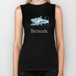B is for Barracuda Biker Tank