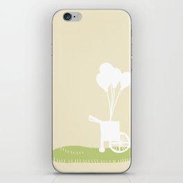 Balloon Cart iPhone Skin