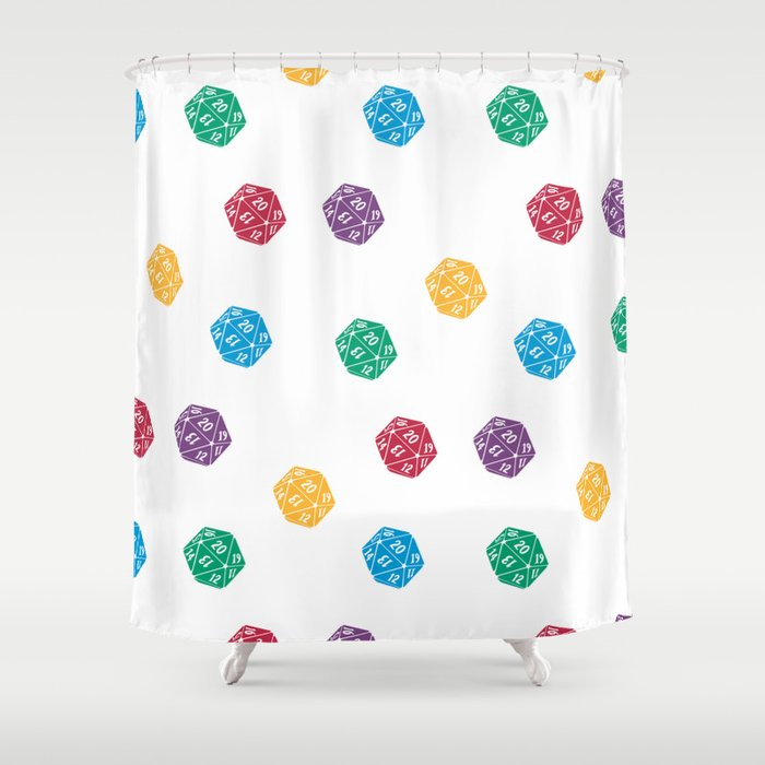 Mana Spin-downs Shower Curtain
